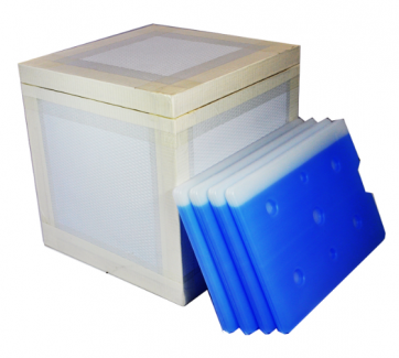 VIP Shippers -Vacuum Insulated Panel Ice box Shippers